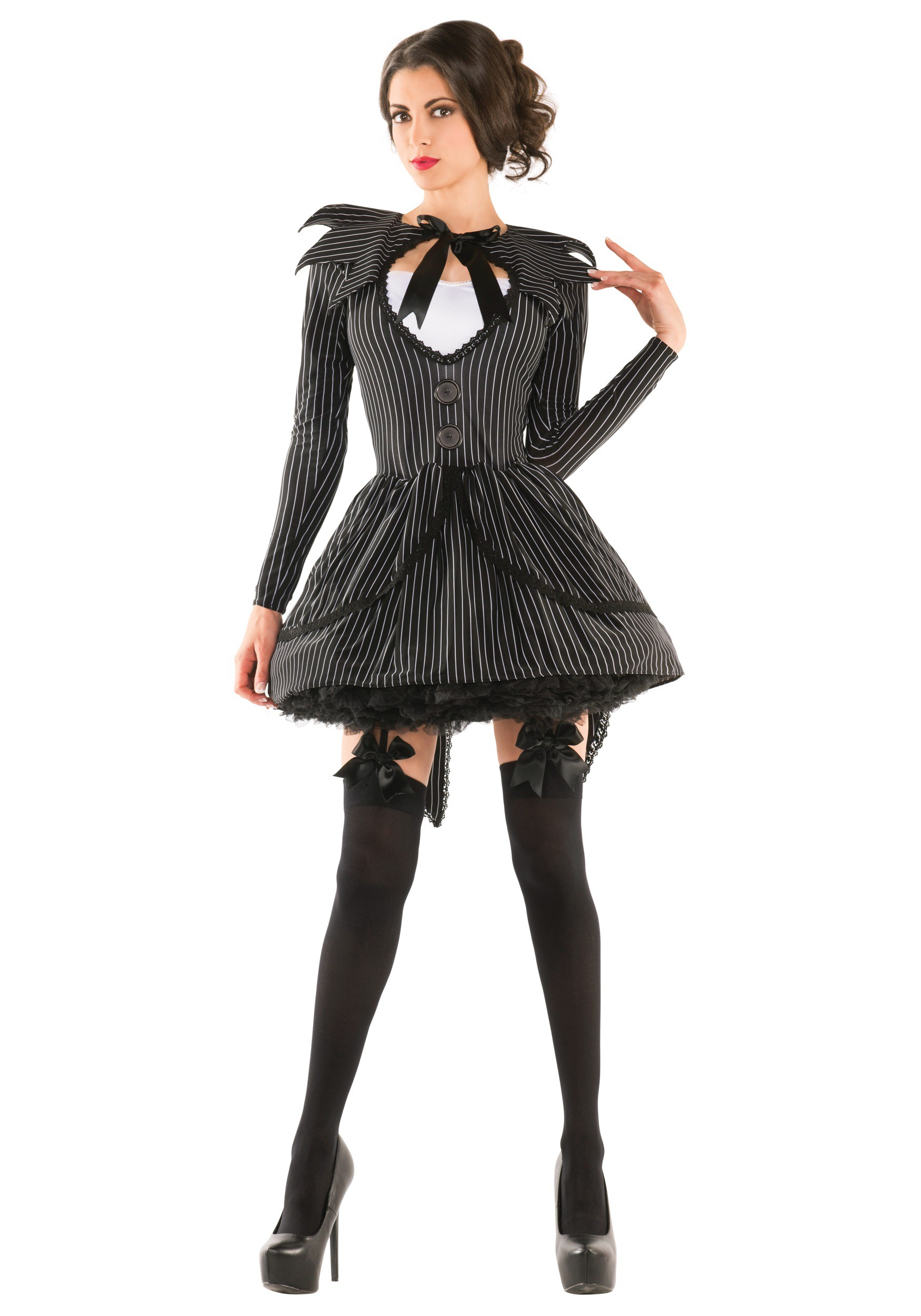 sc 1 st  Halloween Costumes & Bad Dreams Babe Adult Costume