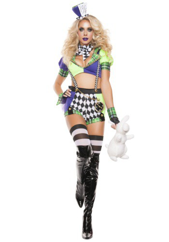 Click Here to buy Womens Tipsy Mad Hatter Costume from HalloweenCostumes, USA Funds & Shipping