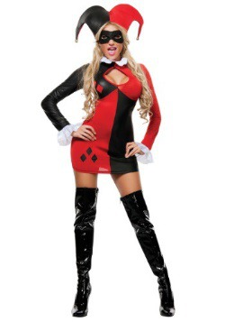 Womens Harlequin Costume