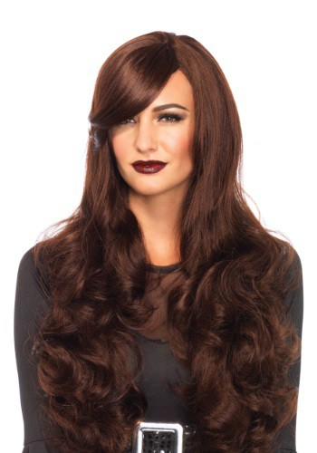 Brown Long Wavy Wig By: Leg Avenue for the 2015 Costume season.