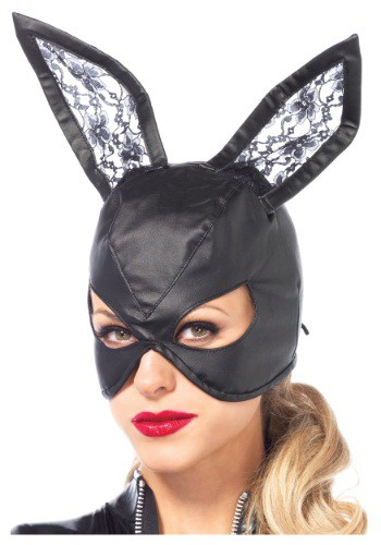 Faux Leather Bunny Mask By: Leg Avenue for the 2015 Costume season.