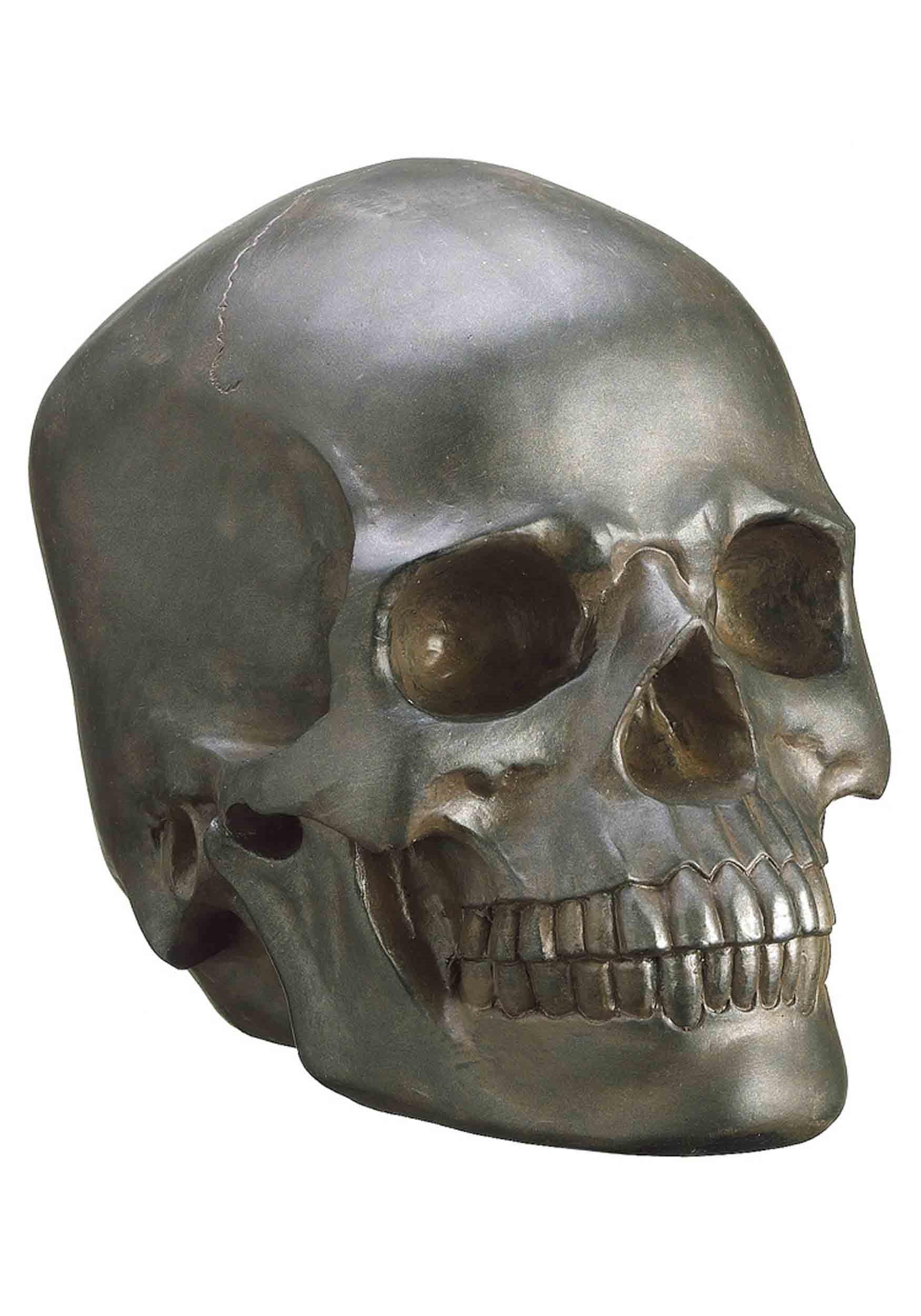 """9.5""""_Polyresin_Skull"""