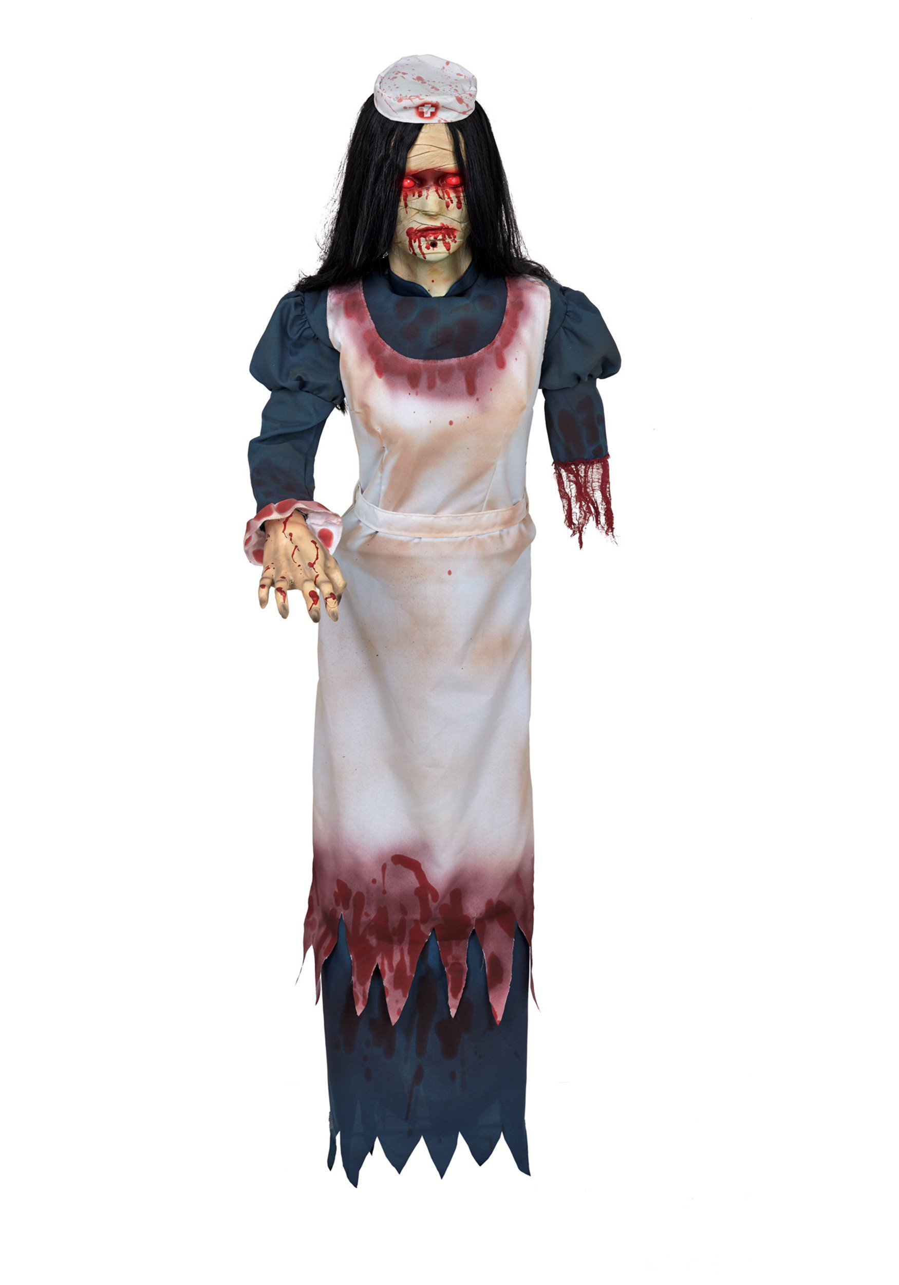 Decorating Ideas > Asylum Nurse Prop ~ 074650_Halloween Asylum Door Prop