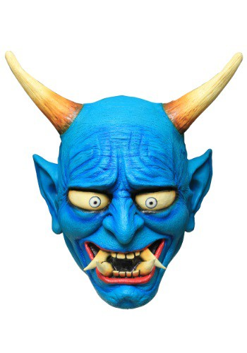 Click Here to buy Blue Oni Demon Adult Mask from HalloweenCostumes, USA Funds & Shipping