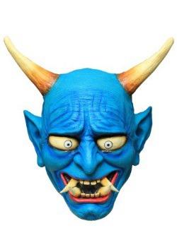 Adult Blue Oni Demon Mask