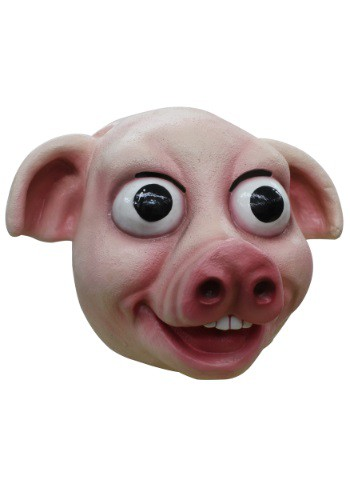 Click Here to buy Pudgy Pig Adult Mask from HalloweenCostumes, USA Funds & Shipping