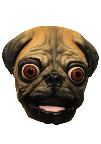Happy Pug Adult Mask