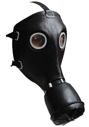 Black GP-5 Gas Mask By: Ghoulish Productions for the 2015 Costume season.