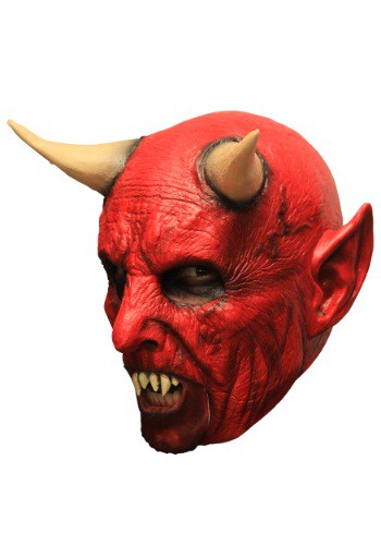 Click Here to buy Demon w/ Teeth Adult Mask from HalloweenCostumes, USA Funds & Shipping