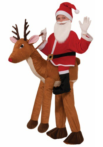 Click Here to buy Kids Ride A Reindeer Costume from HalloweenCostumes, USA Funds & Shipping