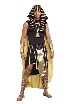 Plus Size King of Egypt Costume1