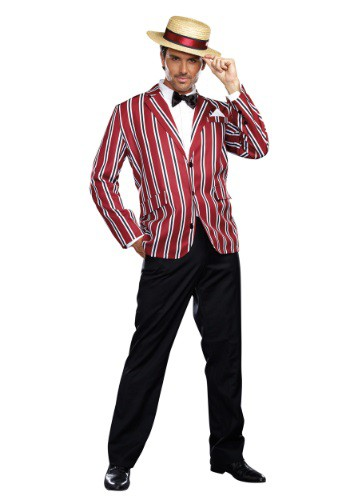 Mens Plus Size Good Times Charlie Costume