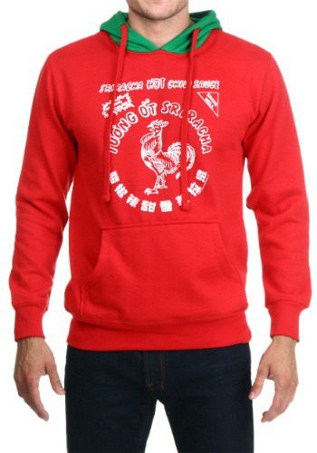 I Am Sriracha Hoodie By: Ripple Junction for the 2015 Costume season.