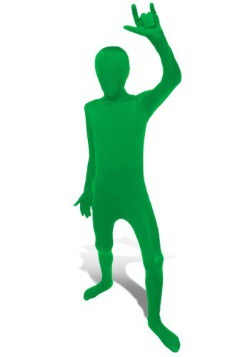Child Green Morphsuit