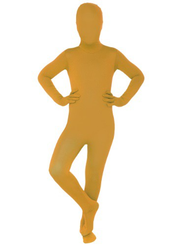 Image of Child Orange Morphsuit