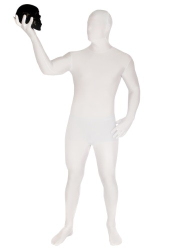 Click Here to buy Adult White Morphsuit from HalloweenCostumes, USA Funds & Shipping