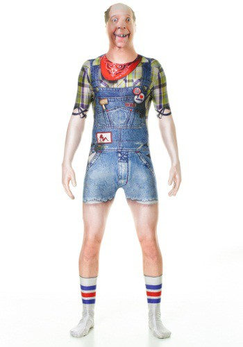 Click Here to buy Adult Hillbilly Faux Real Morphsuit from HalloweenCostumes, USA Funds & Shipping