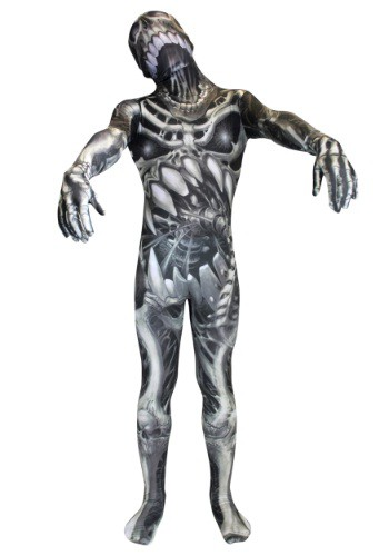 Kid's Skull and Bones Skeleton Morphsuit By: Morphsuits for the 2015 Costume season.