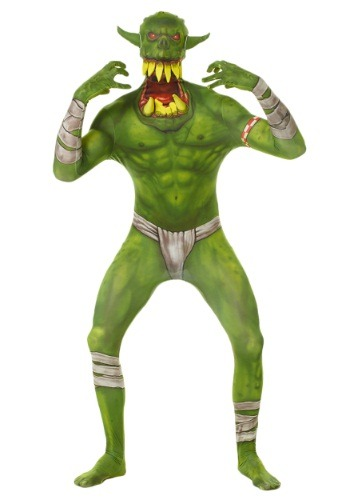 Kids Green Orc Morphsuit By: Morphsuits for the 2015 Costume season.
