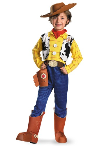 Click Here to buy Kids Deluxe Woody Costume from HalloweenCostumes, USA Funds & Shipping