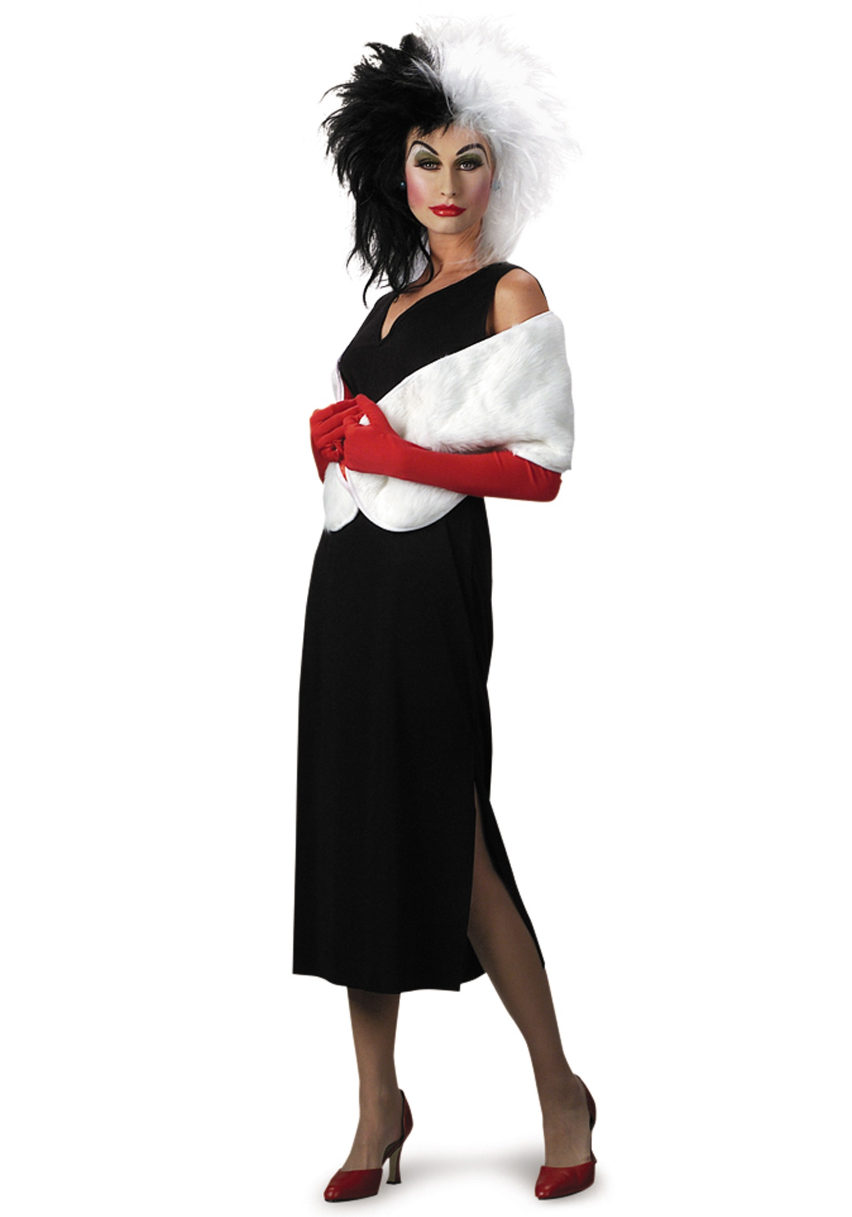 Cruella Deville Costume Adults Adult Cruella Devil Costume