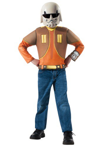 Ezra Bridger Muscle Chest Dress Up Box Set By: Rubies Costume Co. Inc for the 2015 Costume season.