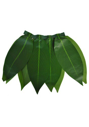 Child Leaf Hawaiian Skirt