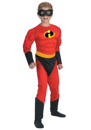 Click Here to buy Kids Incredibles Dash Costume from HalloweenCostumes, USA Funds & Shipping