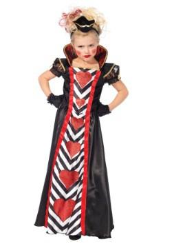 Girls Wonderland Queen Costume