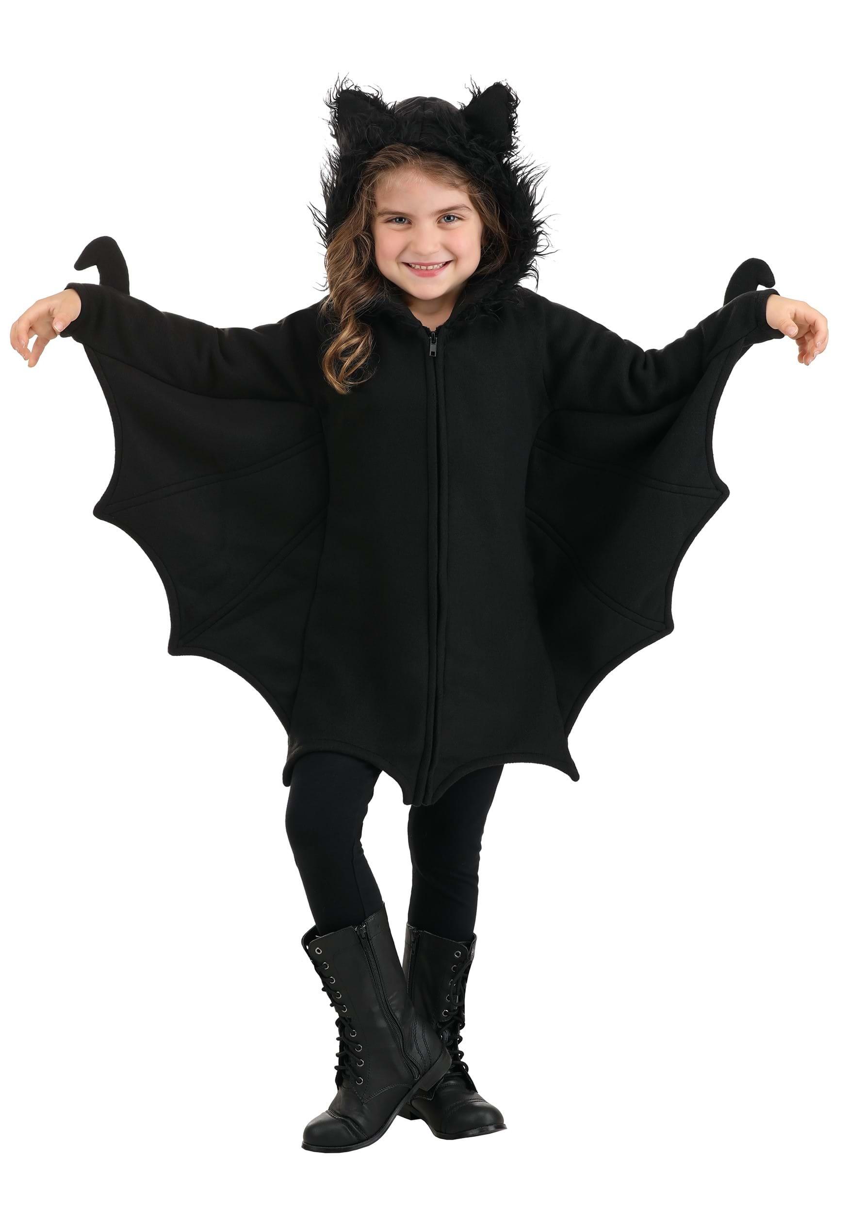 Anime Costumes Girls Girls Cozy Bat Costume