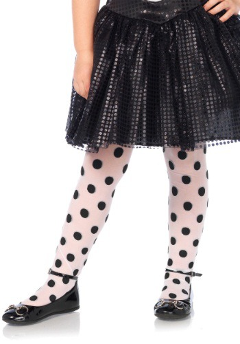 Girls Polka Dot Tights By: Leg Avenue for the 2015 Costume season.