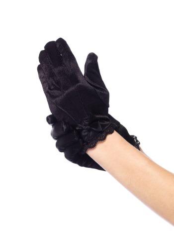 Image of Black Gloves for Girls