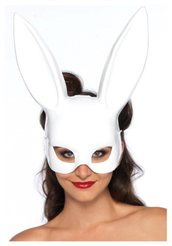 White Bunny Mask By: Leg Avenue for the 2015 Costume season.