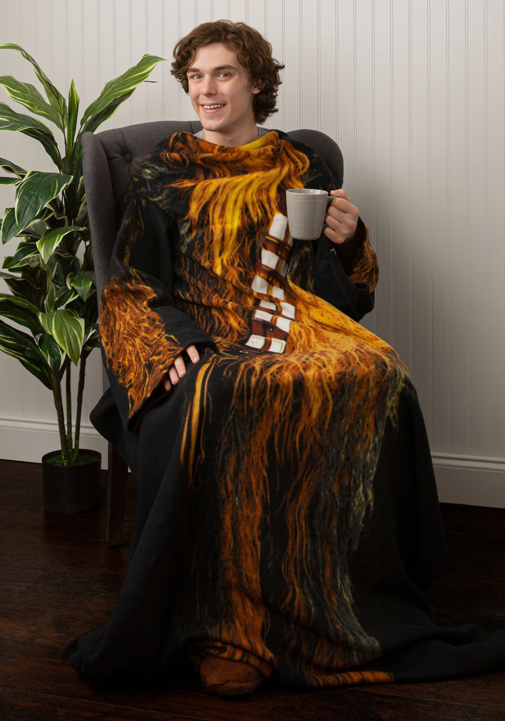 Adult Chewbacca Comfy Throw Costume