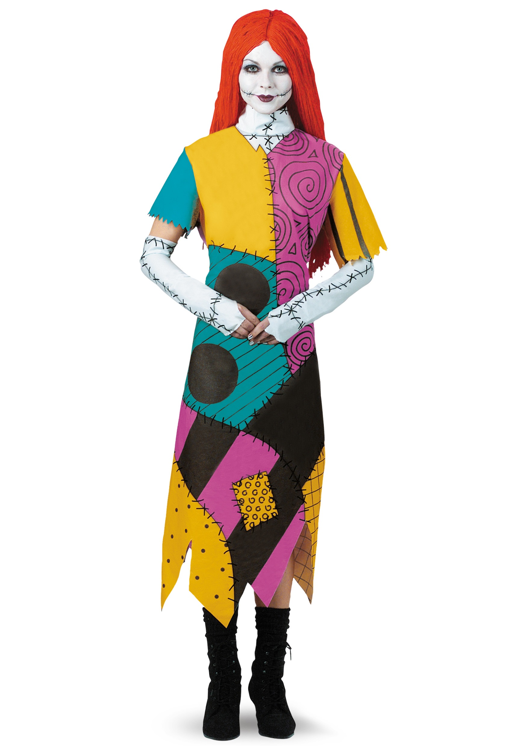 plus size classic sally costume - Nightmare Before Christmas Halloween Costume