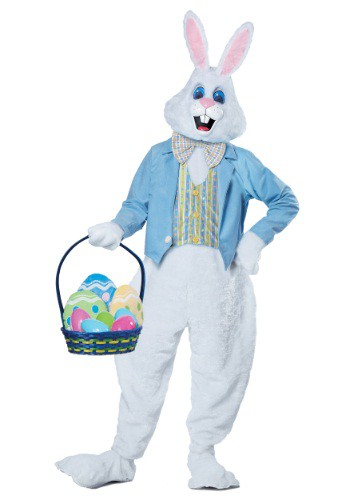 Click Here to buy Adult Deluxe Easter Bunny Costume from HalloweenCostumes, CDN Funds