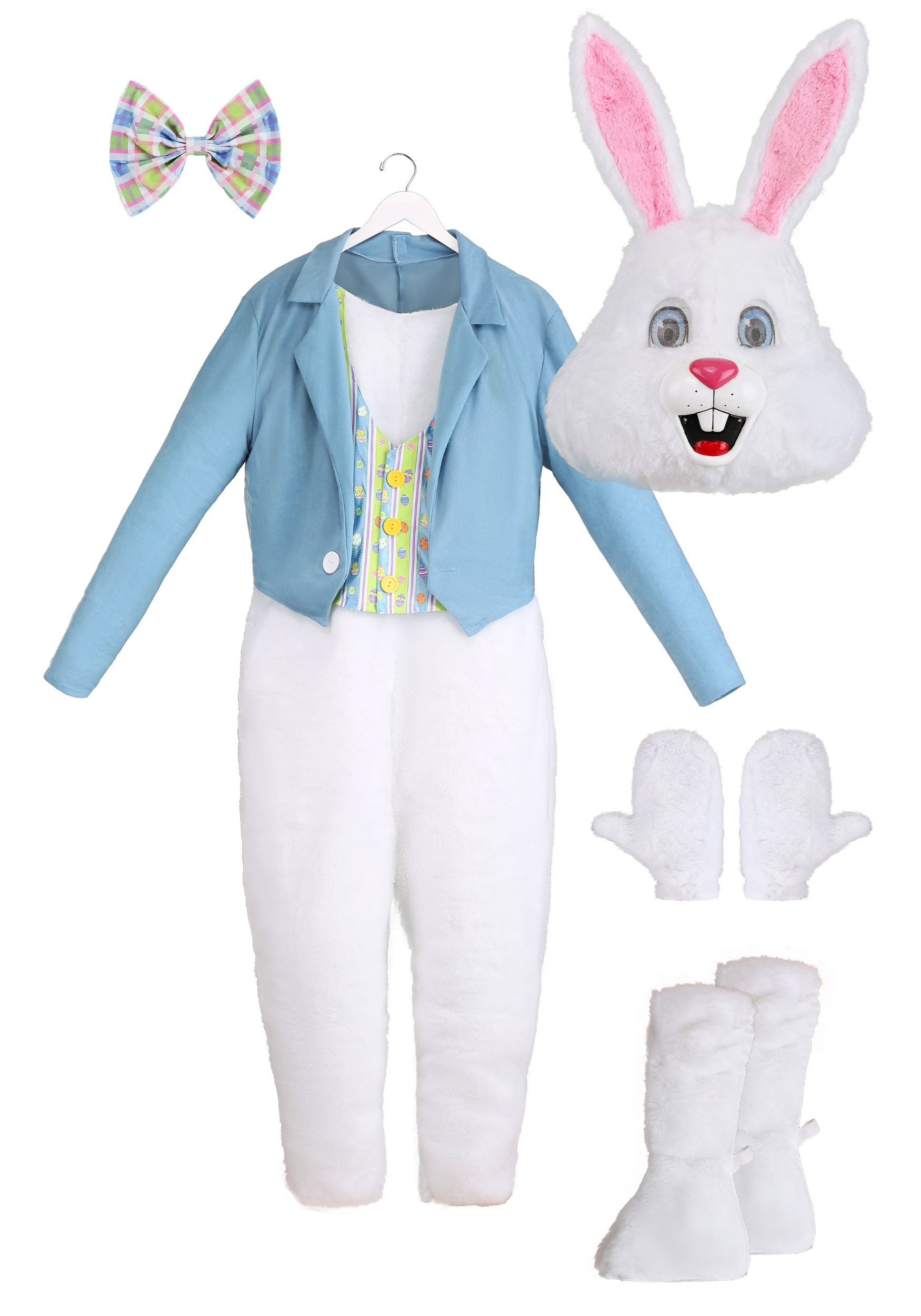California Costumes Mens Deluxe Easter Bunny Costume