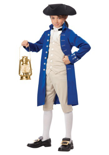 Click Here to buy Kids Paul Revere Costume from HalloweenCostumes, USA Funds & Shipping