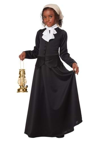 Click Here to buy Girls Harriet Tubman Costume from HalloweenCostumes, USA Funds & Shipping