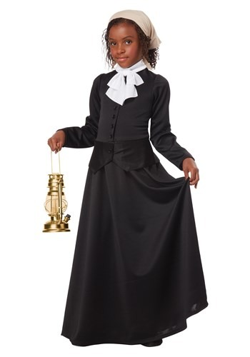 Click Here to buy Harriet Tubman/Susan B. Anthony Girls Costume from HalloweenCostumes, CDN Funds
