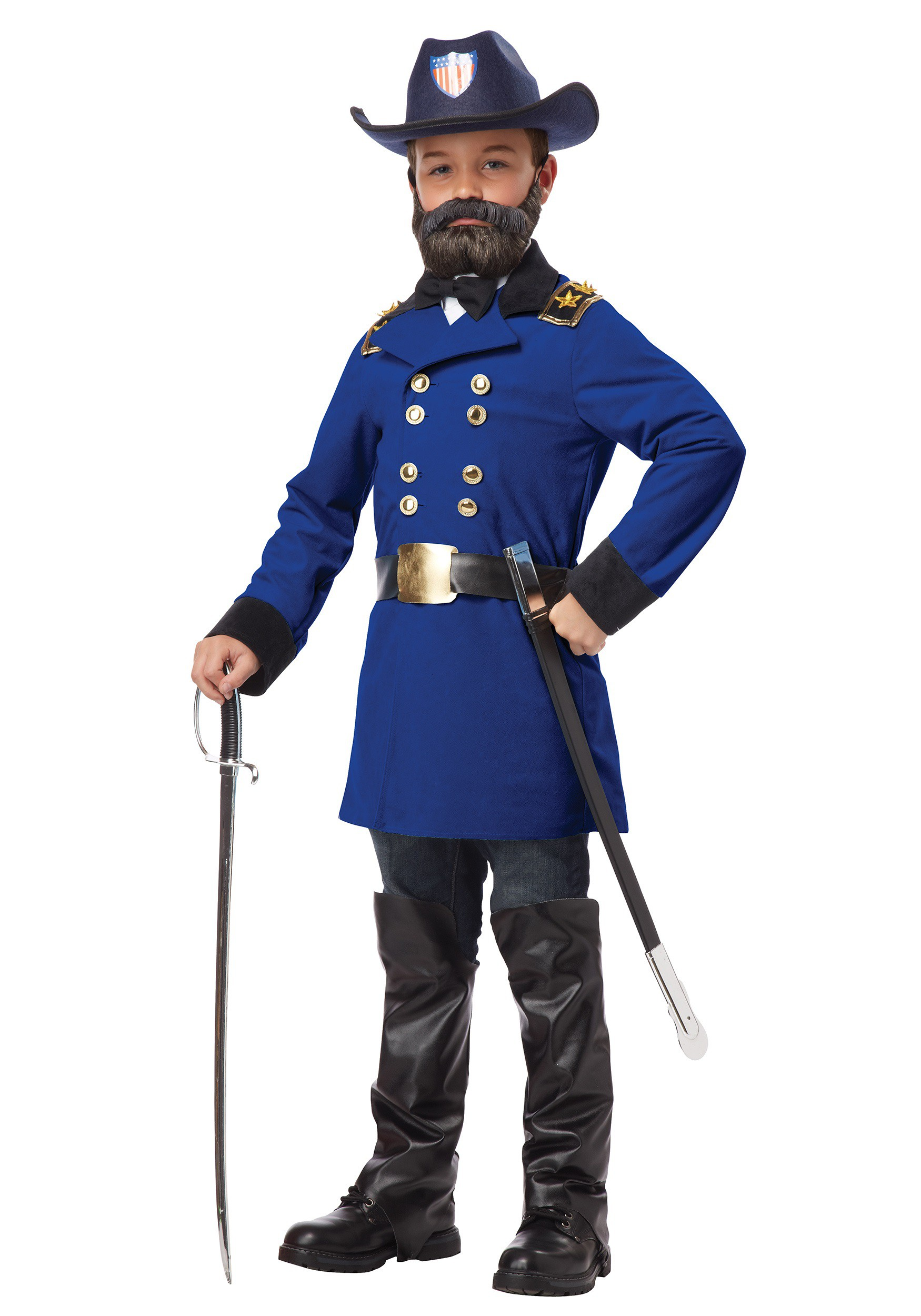 civil war reenactment costumes uniforms com child general ulysses s grant costume