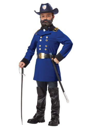 Child General Ulysses S. Grant Costume By: California Costume Collection for the 2015 Costume season.