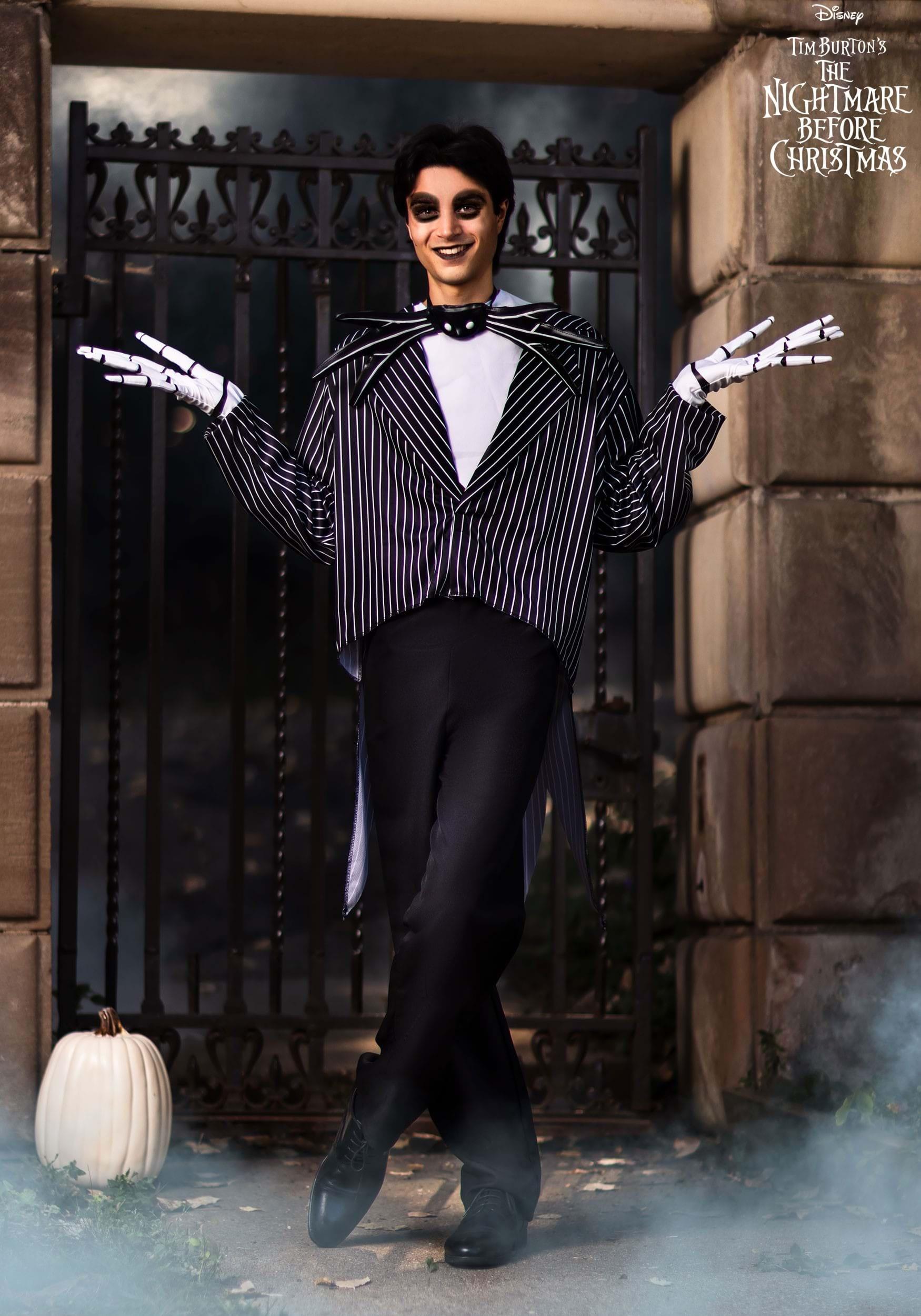 Baby Boys Disney Nightmare Before Christmas Jack Skellington Fancy Dress Costume