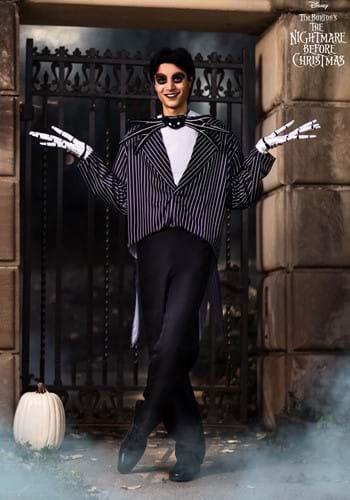 Mens Jack Skellington Costume - Tim Burton Movie Costumes