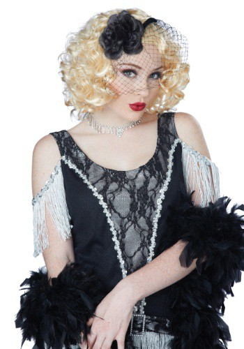 Women's Blonde Savoir Faire Wig By: California Costume Collection for the 2015 Costume season.