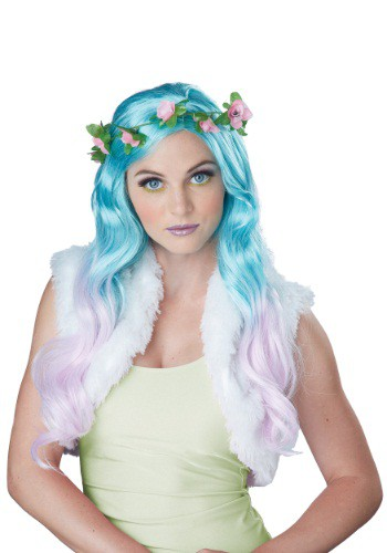 Women's Floral Fantasy Wig By: California Costume Collection for the 2015 Costume season.