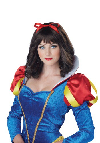 Women's Snow White Wig By: California Costume Collection for the 2015 Costume season.