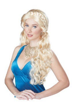 Women's Blonde Medieval Beauty Wig