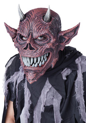 Click Here to buy Devil Ani-Motion Mask from HalloweenCostumes, USA Funds & Shipping