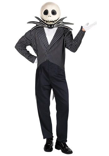 Click Here to buy Adult Jack Skellington Costume from HalloweenCostumes, CDN Funds